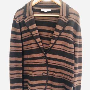 Ann Taylor LOFT striped Blazer: Size L